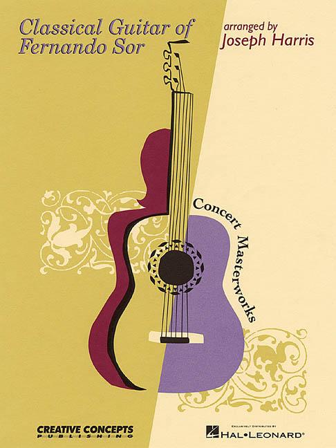Classical Guitar Of Fernando Sor By Sor, Fernando
